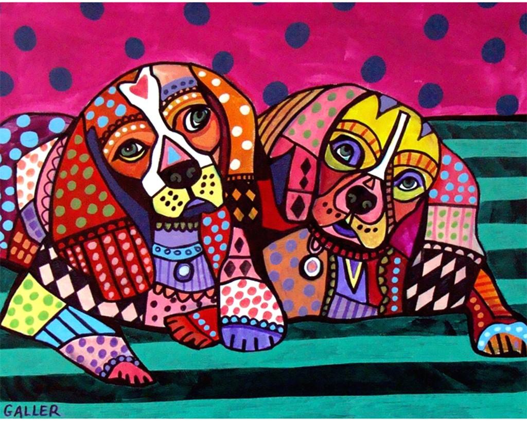 Cavalier King Charles Spaniel pop art
