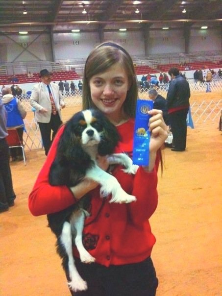 Knightley's first blue ribbon Glen Rose 2009