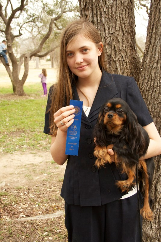 Lulu wins her class twice, her first weekend out.